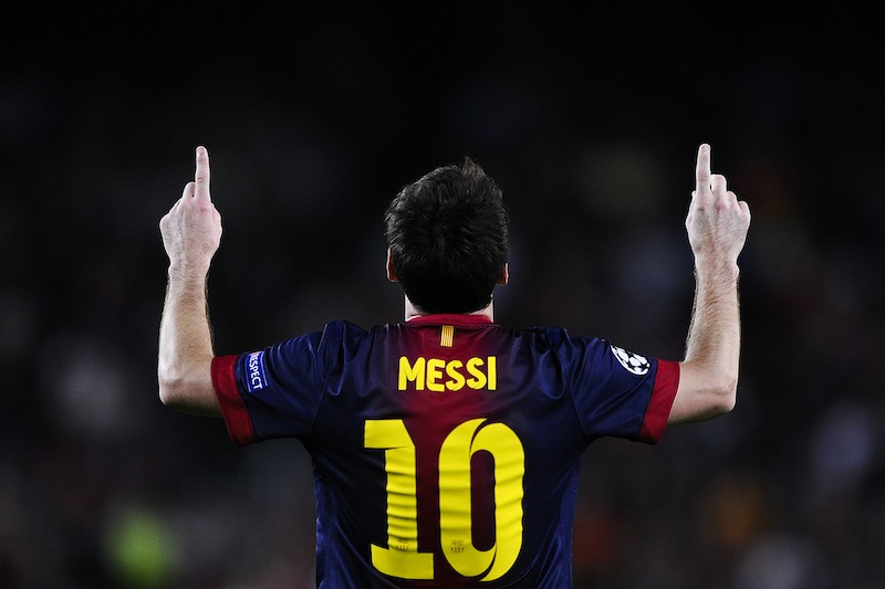 Messi humano y extraterrestre rompe récords