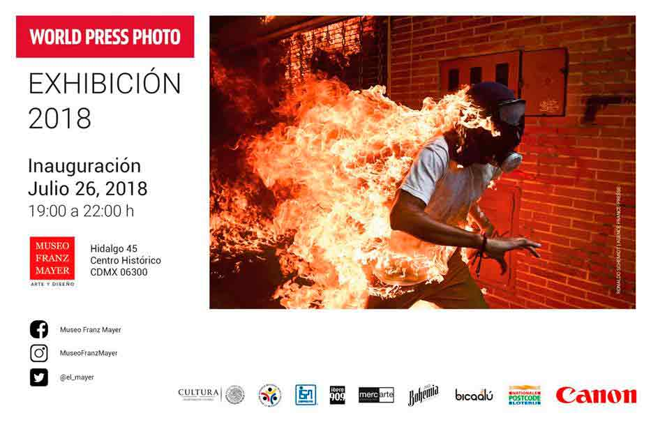 26 de julio inauguran exposición World Press Photo en CDMX