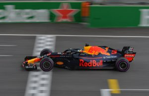 Coche Red Bull en el Gran Premio de China 2018