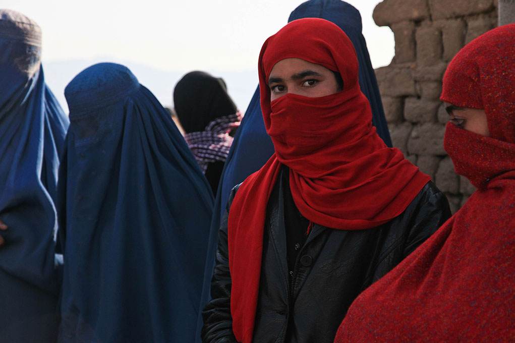 """""""We are going to fight"""": Afghan women seek to keep their rights"""